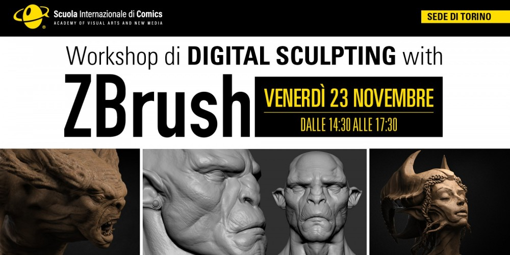 WORKSHOP DI ZBRUSH
